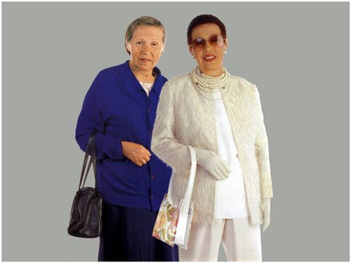 Обычные женщины в руках стилистов