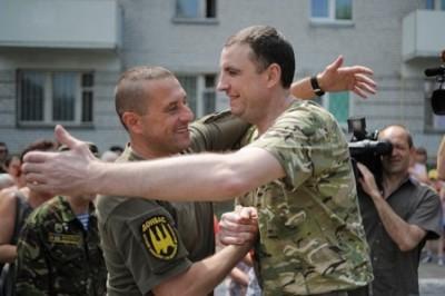 Откормленный «бычара»: Такими возвращаются из плена днепропетровские герои АТО