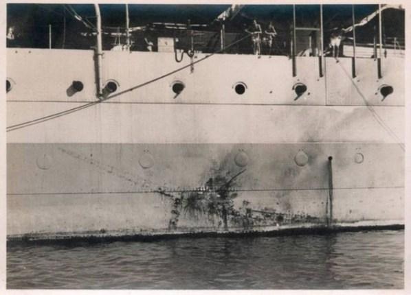 Неудачная атака камикадзе, 26 июля 1945 интересно, история, фото