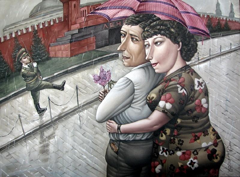 AngelaJerich20 Путешествие в СССР: картины художницы Анжелы Джерих