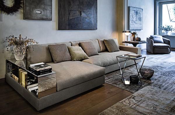 Использование модульных диванов Роскошь и уют