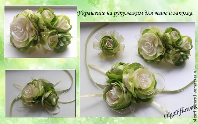 Пышная роза без специнструментов. МК