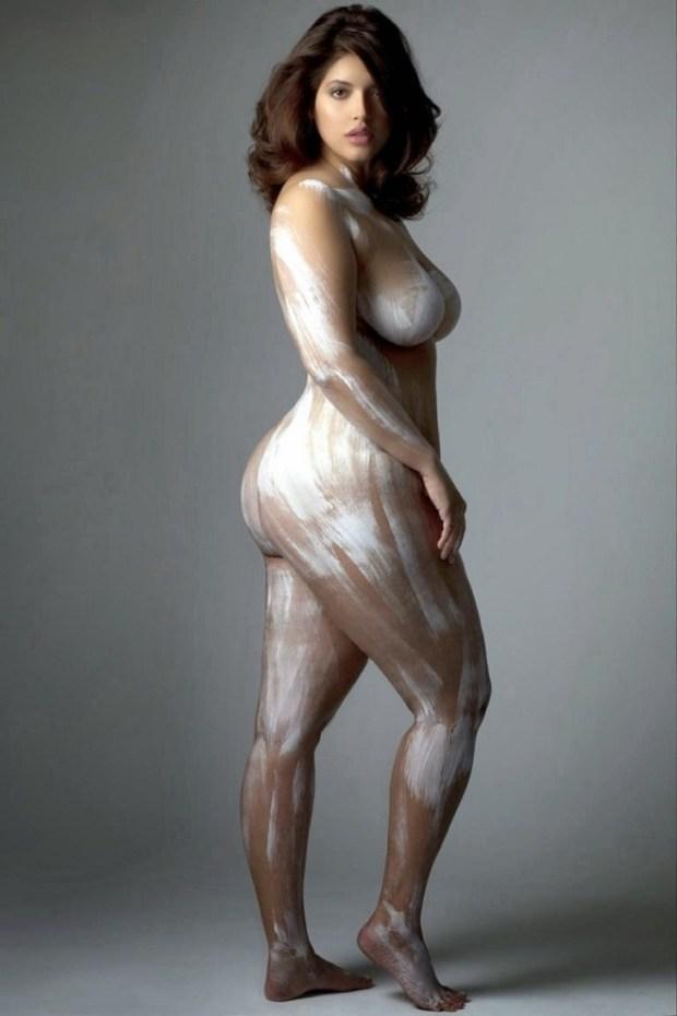 Соблазнительный фотопроект с аппетитными моделями, который доказывает, что у красоты нет рамок девушка, фигура, фотопроект