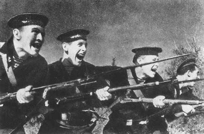 Как русские ходили в рукопашную