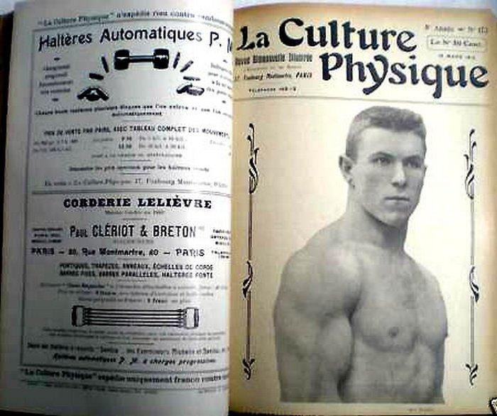 Публикация о Георге Гаккеншмидте во французском журнале