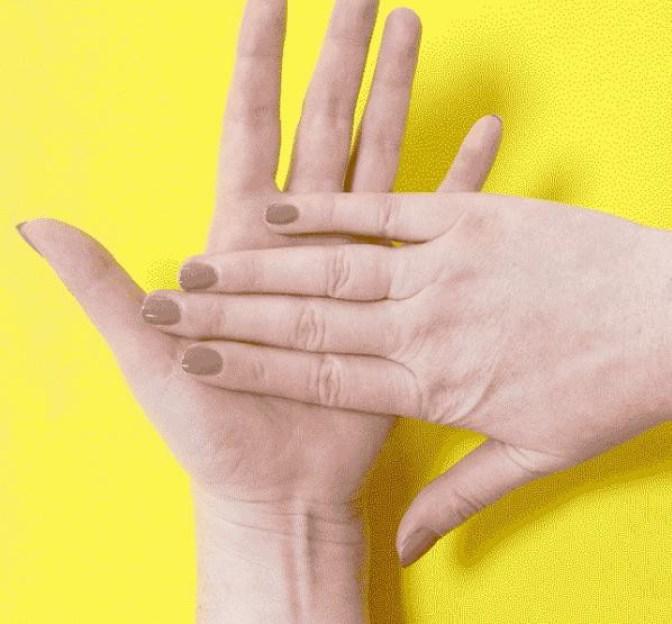 Ладонь: напряжённость, тошнота палец, факты