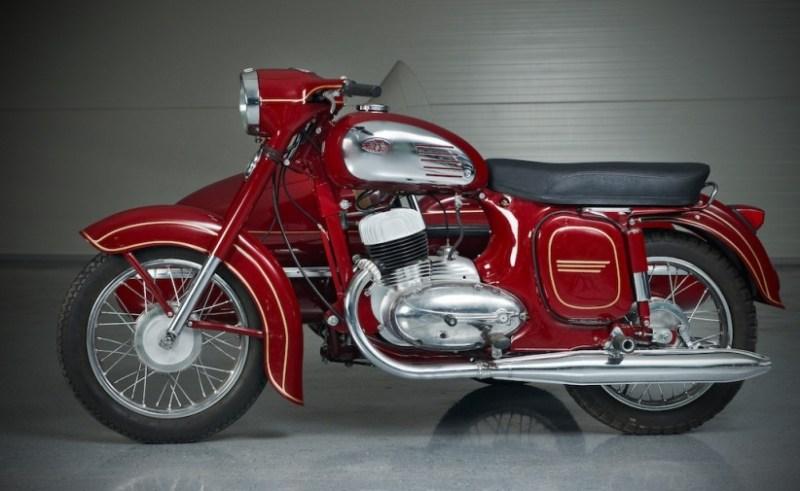 7. Jawa 360. Самый красивый. авто, мото, мотоцикл, советские мотоциклы, ссср