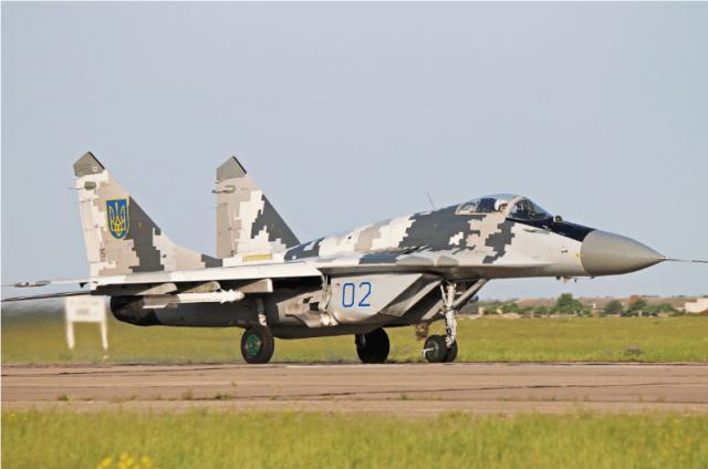 Авиация Украины в конфликте на Юго-востоке