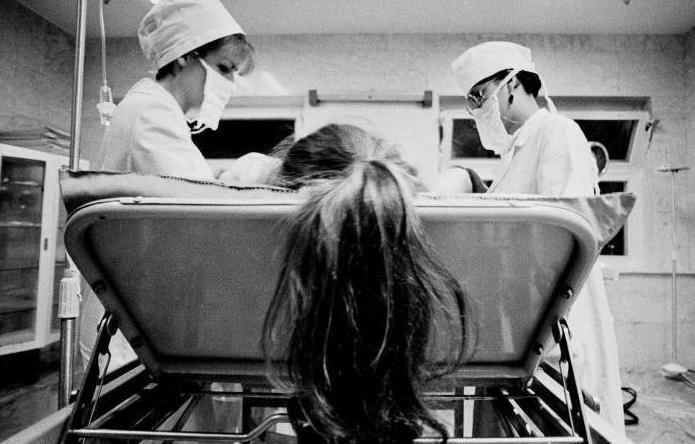 Фото из операционной.
