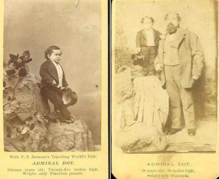 Леопольд, Адмирал Дот. «Цирк уродов»: Страшное зрелище (фото)
