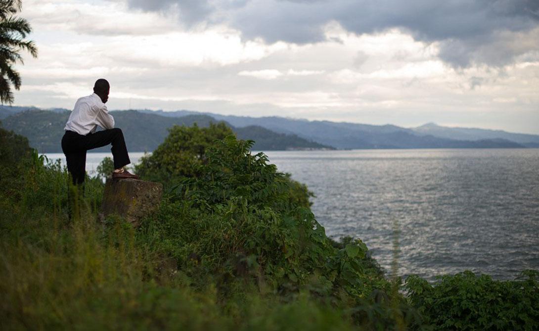 Река Конго. Африка 4 700 километров