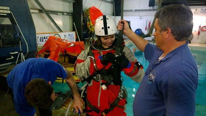 """Впервые о полете на Марс Алисса задумалась в 3 года, когда посмотрела ТВ-шоу """"Фантазеры"""" nasa, Марс Космос, астронавтка, космос, марс, миссия, сша, центр подготовки космонавтов"""
