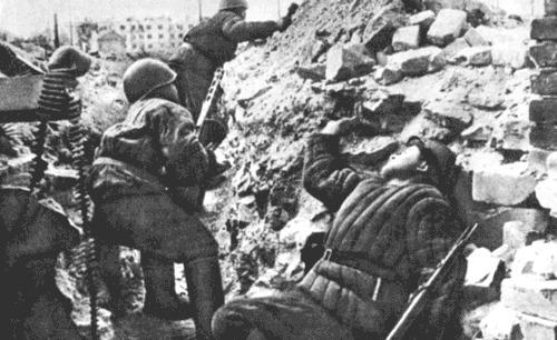 вов, немцы о русских солдатах