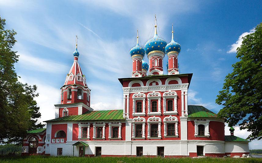Церковь Дмитрия на Крови, Углич, Россия