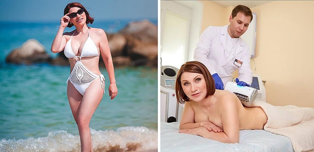 Роза Сябитова сделала восемь пластических операций, включая липосакцию, и очень тщательно следит за своей внешностью. Фото: Инстаграм.