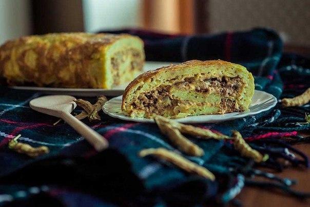 Рецепт кабачкового рулета