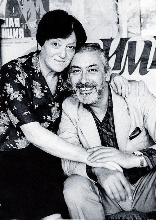 Жена Вахтанга Кикабидзе - Ирина. Они уже более 50 лет вместе