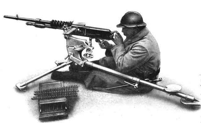 Ручной пулемёт Гочкис - незаслуженно забытое оружие двух мировых войн 20 века