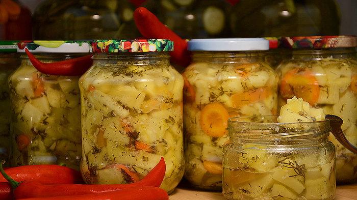 Маринованные кабачки – заготовка на зиму заготовки на зиму, домашнее консервирование, кабачок, на зиму, видео, рецепт, маринованные кабачки, длиннопост