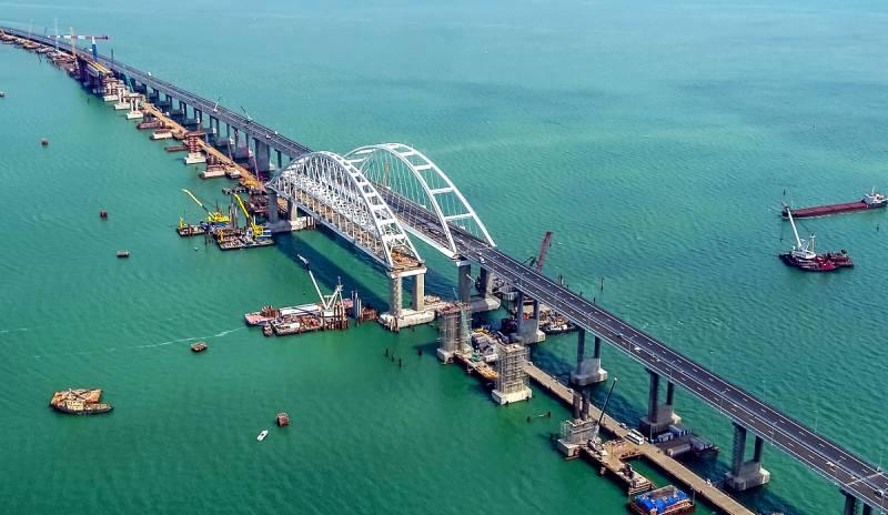 США выставили свой флот против Крымского моста