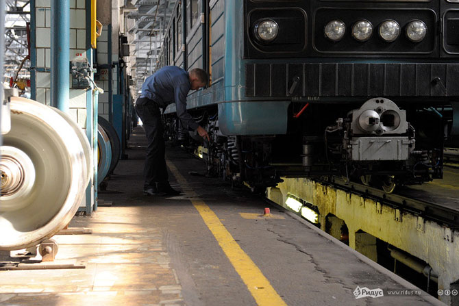 Депо московского метро