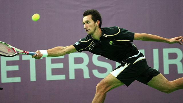 Украинский теннисист Сергей Стаховский. Архивное фото