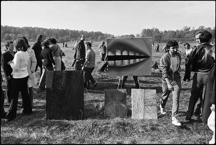 Как Никита Хрущев посетил выставку художников-авангардистов
