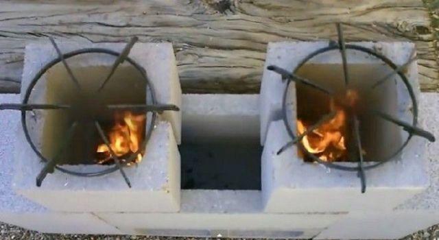 Печка готова к кулинарным экспериментам