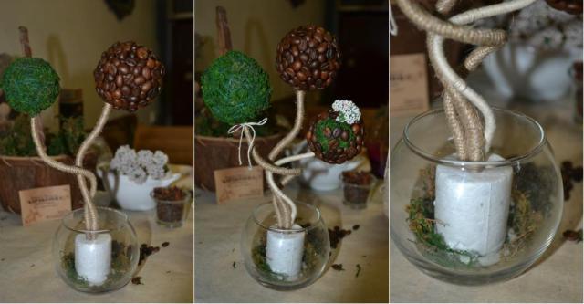 Дерево в вазе