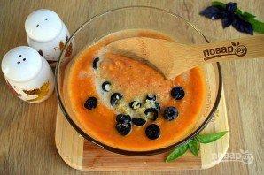 Холодный суп из кабачковой икры - фото шаг 3