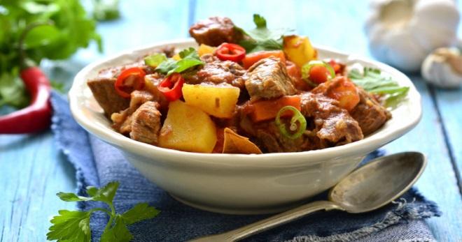 Жаркое из свинины - 11 лучших рецептов сытного и вкусного ...