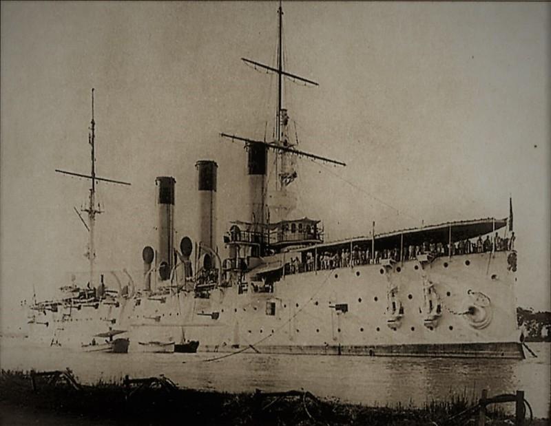 Рекордсмены по погрузке угля. Цусима, интересное, история, крейсер «Аврора»