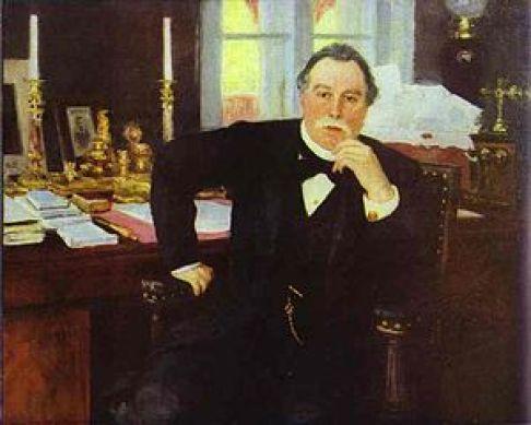 В. К. фон Плеве. Портрет работы И. Репина (1902)