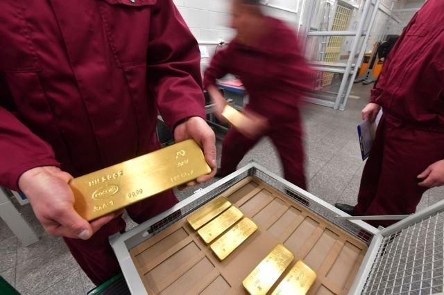 Как выглядит золотой запас России Центробанк, золотой запас, факты