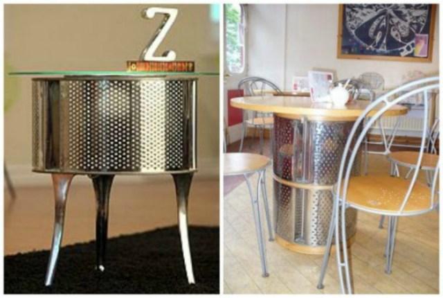 Креативные обеденные столы.
