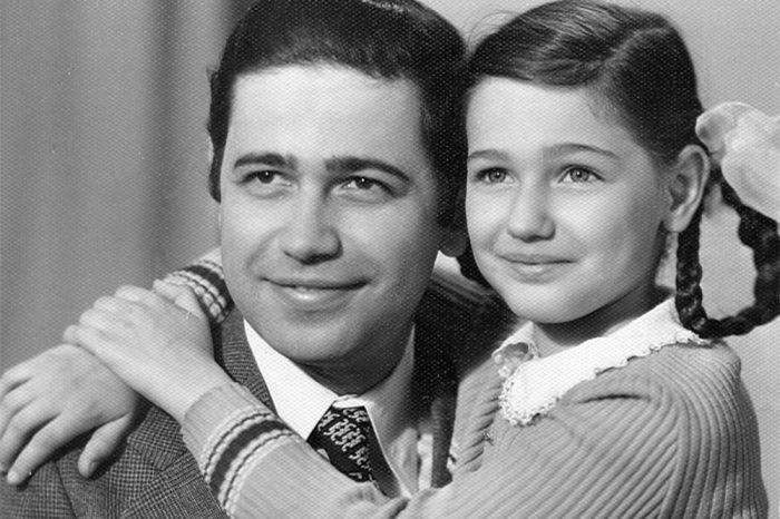 Евгений Петросян с дочерью Викториной.