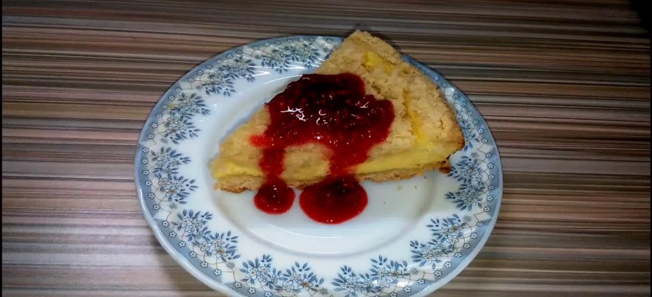 Королевская ватрушка. Пирог с творогом. Очень вкусный рецепт