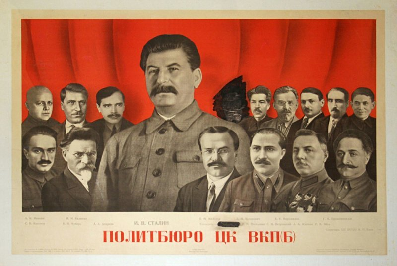 1935. Политбюро ЦК ВКП б СССР, память, россия