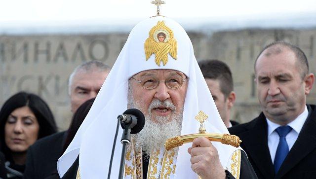 """Патриарх Кирилл """"наехал"""" на президента Болгарии: Вашу страну освободила Россия! Не Польша и не Литва!"""