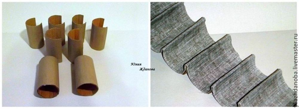 Делаем из картона вместительный комод с выдвижными ящичками для рукоделия
