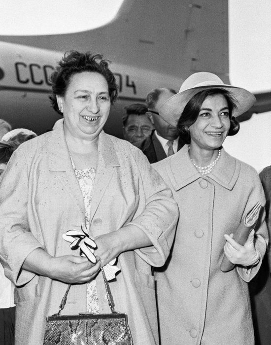 Жена Леонида Брежнева - Виктория