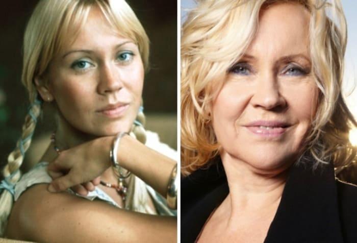 Агнета Фельтског тогда и сейчас   Фото: 24smi.org