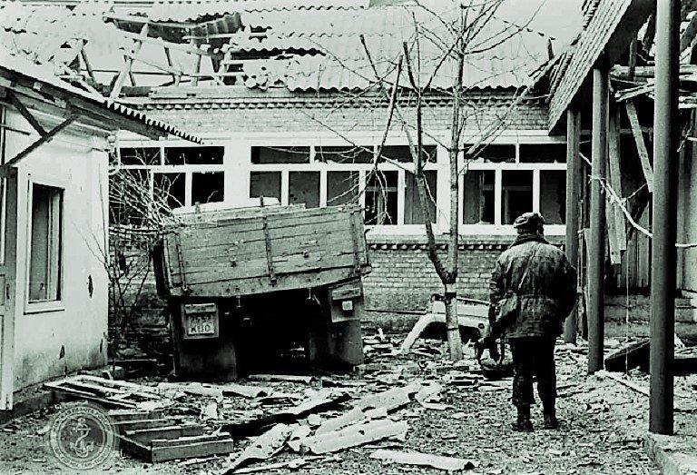 Потери и подвиги. Андреевский флаг, Первая чеченская война, морпехи
