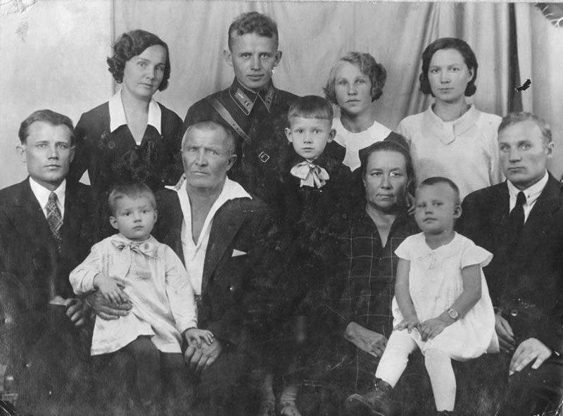 Фото из семейного альбома СССР, война, герои, защитники Родины, история, факты