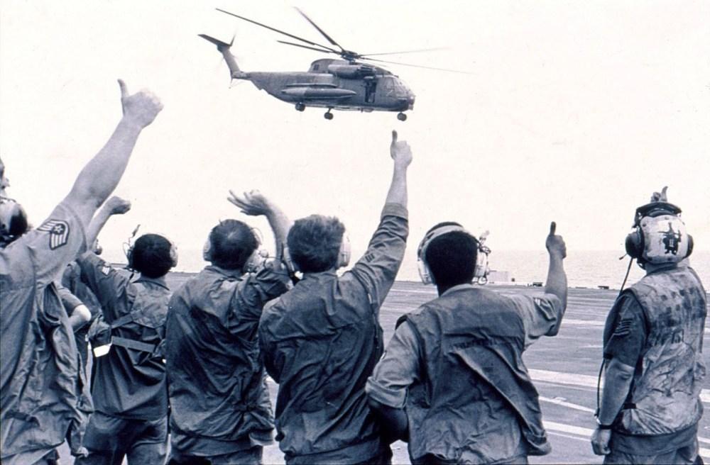 Операция «Порывистый ветер». 29-30 апреля 1975