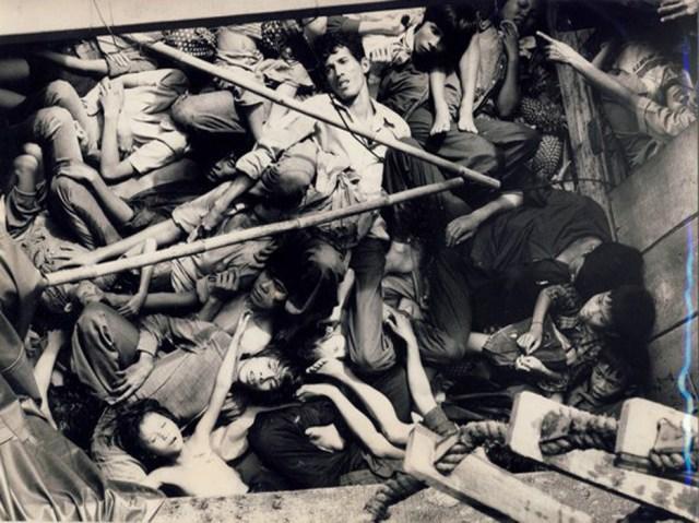 «Люди в лодках» Ноябрь 1977 года