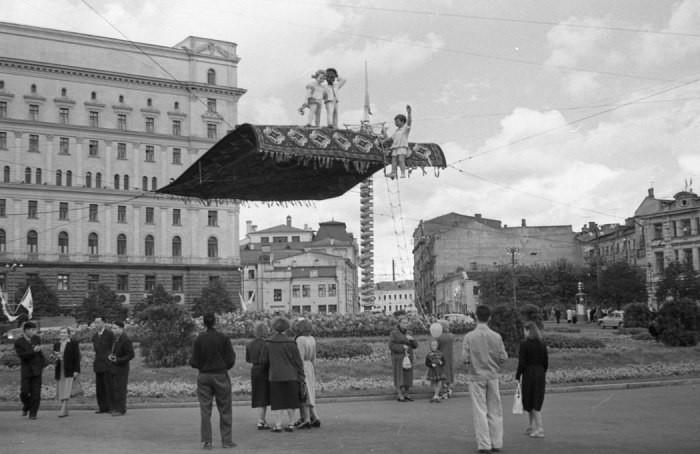 Москва, 1957 год история, события, фото
