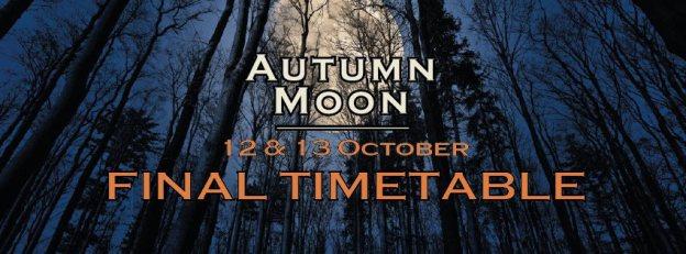 Line Up für das Autumn Moon Festival steht fest.