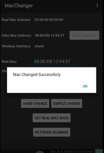 Mac Address Changer - Xfinity Wifi Hacker 7