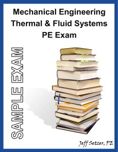 Mechanical Engineering PE Sample Exam